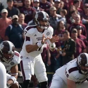 Mississippi State quarterback Dak Prescott