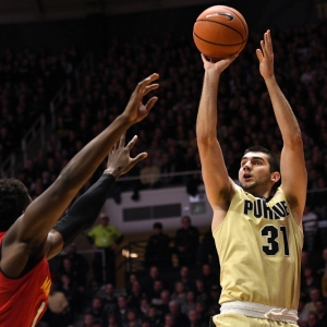 Purdue Boilermakers guard Dakota Mathias