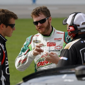Nationwide Series driver Dale Earnhardt Jr.