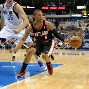 Portland Trail Blazers point guard Damian Lillard