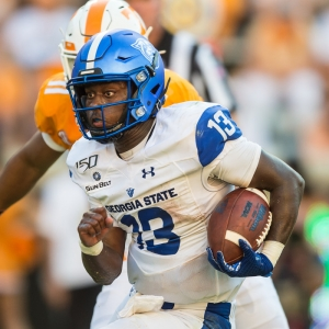 Georgia State Panthers quarterback Dan Ellington