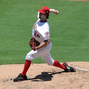 Los Angeles Angels of Anaheim pitcher Dan Haren