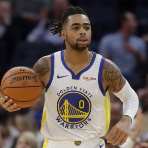 D'Angelo Russell Golden State Warriors