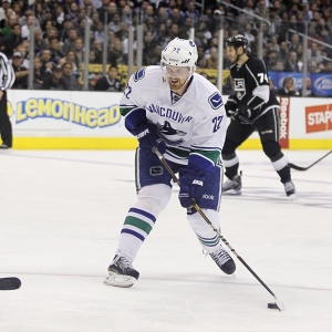 Vancouver Canucks left wing Daniel Sedin