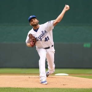 Kansas City Royals starting pitcher Danny Duffy