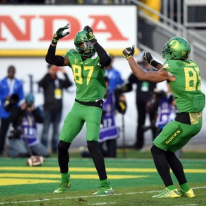 Darren Carrington of the Oregon Ducks