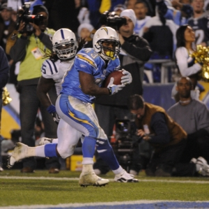Darren Sproles of the San Diego Chargers.