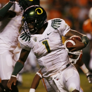 Oregon Ducks QB Darron Thomas