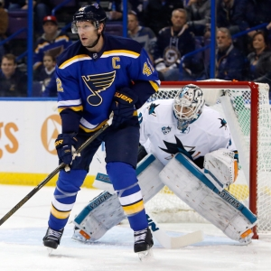 David Backes St. Louis Blues