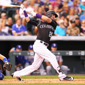 Colorado Rockies Outfielder, David Dahl