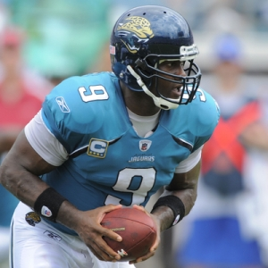 Jacksonville Jaguars quarterback David Garrard