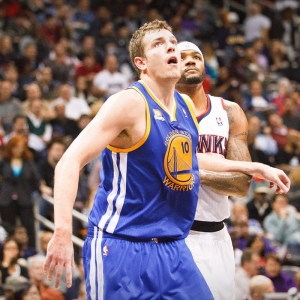 David Lee of the Golden State Warriors
