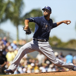 Tampa Bay Rays pitcher David Price