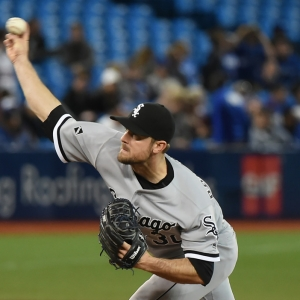 Chicago White Sox relief pitcher David Robertson