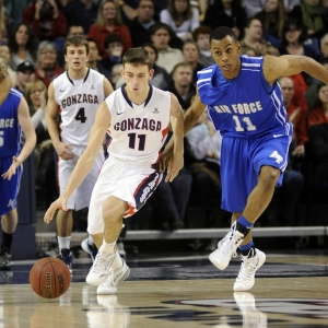 Gonzaga guard David Stockton