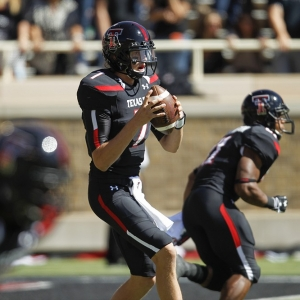 Red Raiders quarterback Davis Webb