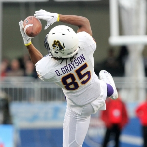 East Carolina Pirates wide receiver Davon Grayson