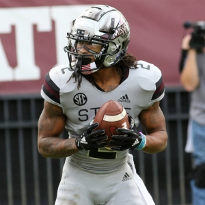 Mississippi State Bulldogs wide receiver Deddrick Thomas