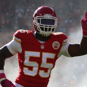 Kansas City Chiefs outside linebacker Dee Ford