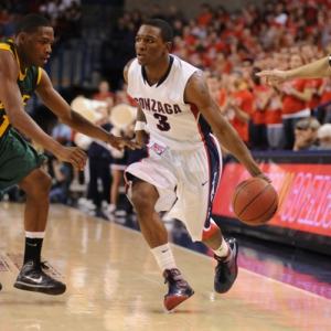 Gonzaga guard Demetri Goodson