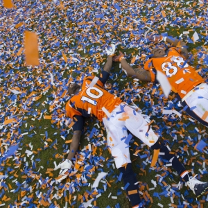 Denver Broncos Celebration