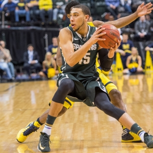 Michigan State Spartans guard Denzel Valentine