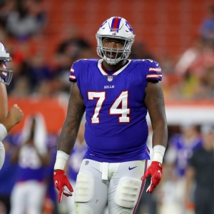 Buffalo Bills tackle De'Ondre Wesley