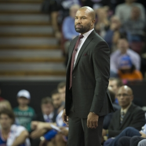 Former New York Knicks head coach Derek Fisher