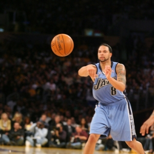 Deron Williams of the Utah Jazz.