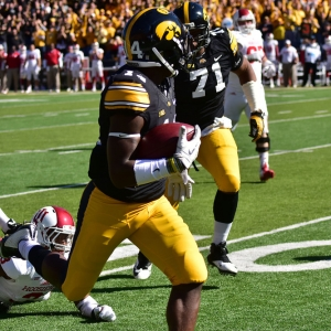 Iowa Hawkeyes' right cornerback Desmond King