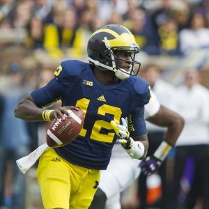 Michigan quarterback Devin Gardner