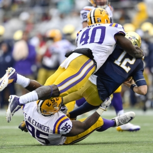 Devin White of the LSU Tigers