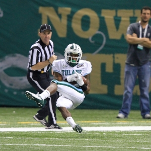 Tulane Green Wave wide receiver Devon Breaux