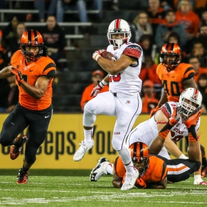 Utah Utes running back Devontae Booker