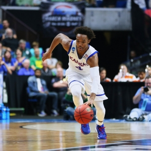 Kansas Jayhawks Guard Devonte' Graham