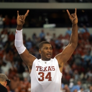 Texas Longhorns center Dexter Pittman.