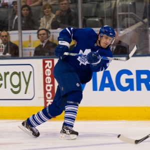 Toronto Maple Leafs defenseman Dion Phaneuf