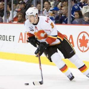 Dion Phaneuf, formerly of the Calgary Flames.