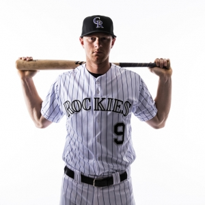 DJ LeMahieu of the Colorado Rockies