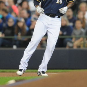 domingo santana milwaukee brewers