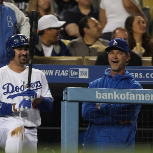 Los Angeles Dodgers manager Don Mattingly