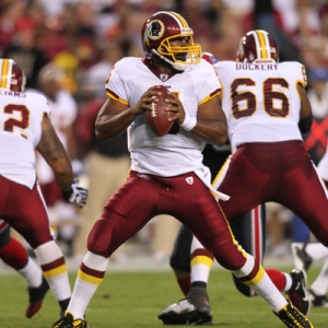 Washington Redskins quarterback Donovan McNabb