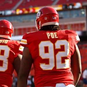 Kansas City Chiefs nose tackle Dontari Poe