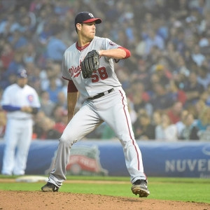 Washington Nationals starting pitcher Doug Fister