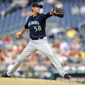 Seattle Mariners pitcher Doug Fister