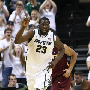 Michigan State Spartans forward Draymond Green