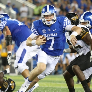 Drew Barker Kentucky Wildcats