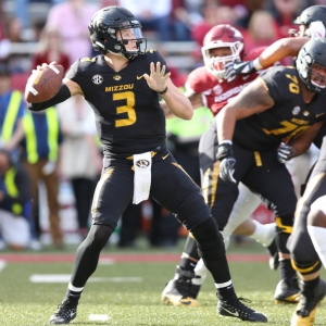 Drew Lock of the Missouri Tigers