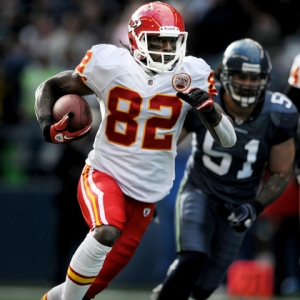 Kansas City Chief wide receiver Dwayne Bowe