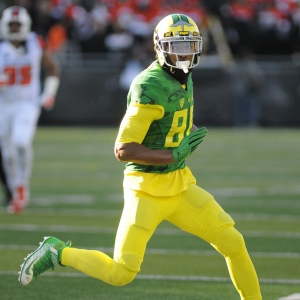 University of Oregon WR Dwayne Stanford